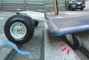 運搬台車エルビーキャリー大型タイヤ
