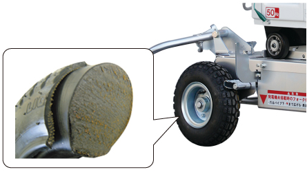 Option solid tyre